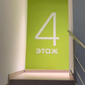Комплексное оформление интерьера для глазной клиники «СОКОЛ» РезонР в Ростове-на-Дону